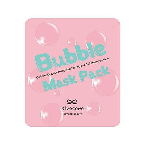 Купить Rivecowe Маска пузырьковая тканевая - Bubble mask pack, 13г