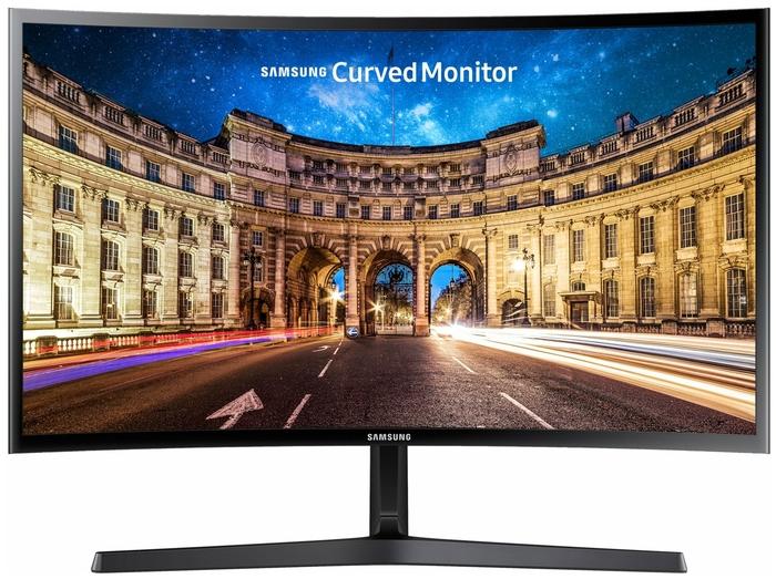 """Монитор Samsung C24F396FHI 23.5"""" — купить по выгодной цене на Яндекс.Маркете"""