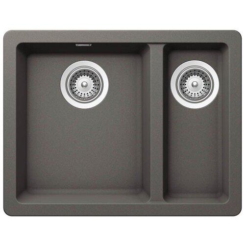 Фото - Врезная кухонная мойка 55 см Schock Soho N-150 серебристый камень врезная кухонная мойка 45 см schock soho n 100s серебристый камень