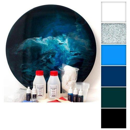 Купить Набор для создания картины эпоксидной смолой ResinArtBox 002, Наборы для декупажа