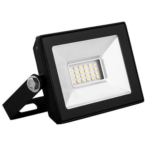 Прожектор светодиодный 10 Вт Saffit SFL90-10 (IP65 4000K черный)
