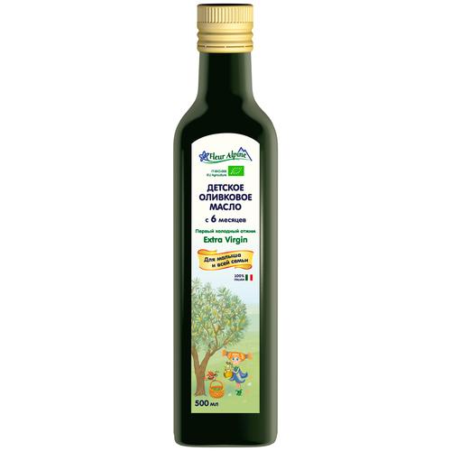 Fleur Alpine масло детское оливковое Extra Virgin, 0.5 л