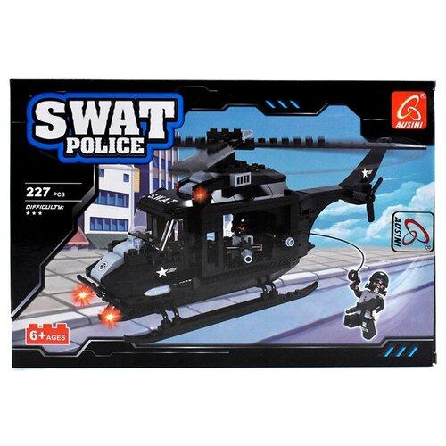 Купить Конструктор Ausini SWAT Police 23511 Вертолет, Конструкторы