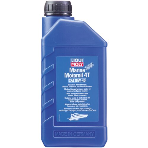 Моторное масло LIQUI MOLY Marine Motoroil 4T 10W-40, 1 л недорого