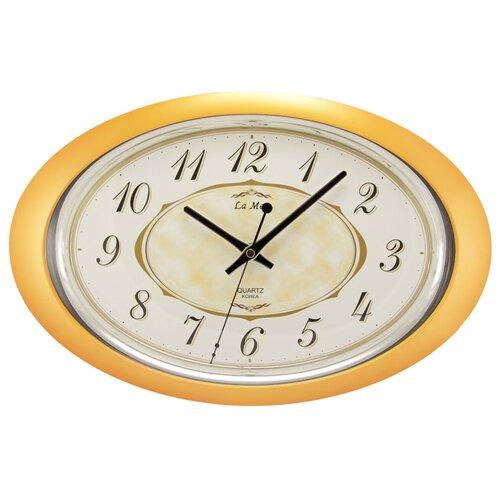 Часы настенные кварцевые La mer GD121 оранжевый настенные часы la mer gd121 13