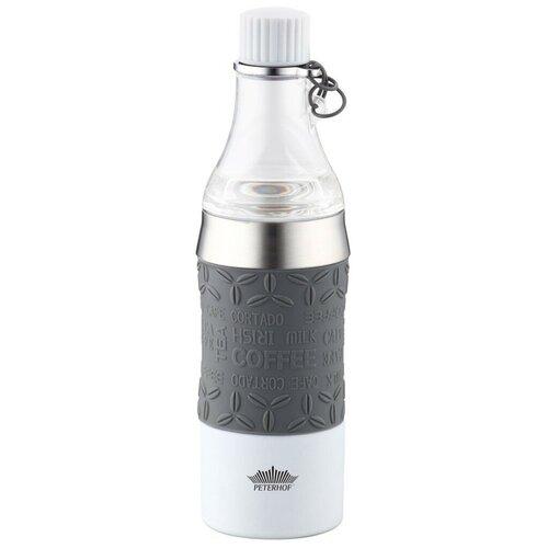 Термокружка Peterhof PH-12429, 0.38 л серый