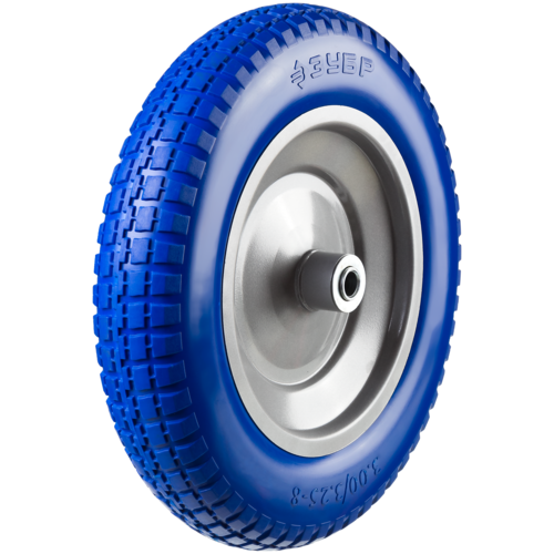Фото - Колесо для тачки ЗУБР полиуретановое (39912-3) 350 мм колесо для тачки зубр 380х16мм полиуретановое 39912 2