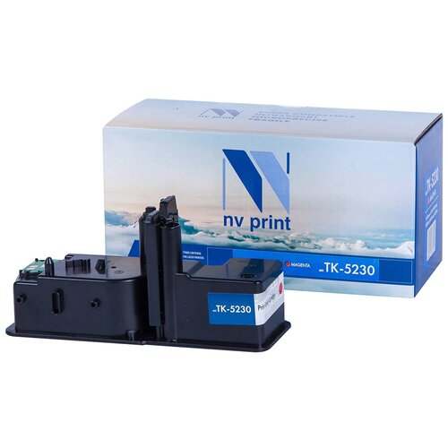 Фото - Картридж NV Print TK-5230 Magenta для Kyocera, совместимый картридж nv print tk 5230 cyan для kyocera совместимый