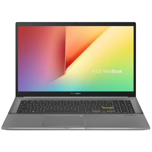 "Ноутбук ASUS VivoBook S15 M533IA (/15.6""/1920x1080) (/15.6""/1920x1080) (/15.6""/1920x1080) (/15.6""/1920x1080)-BQ096T (AMD Ryzen 5 4500U 2300MHz/15.6""/1920x1080/8GB/256GB SSD/AMD Radeon Graphics/Windows 10 Home) 90NB0RF3-M01800 черный"