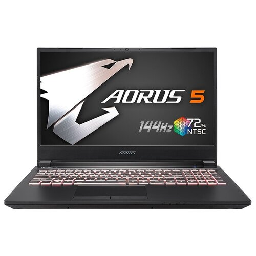 "Ноутбук GIGABYTE AORUS 5 KB (Intel Core i7 10750H 2600MHz/15.6""/1920x1080/16GB/512GB SSD/NVIDIA GeForce RTX 2060 6GB/Windows 10 Home) 9RC45KB8BG4S1RU0000 черный"