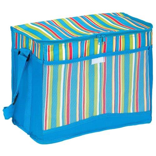 Green Glade Сумка-изотермическая Р2025 голубой/полоска 25 л сумка холодильник green glade p33004