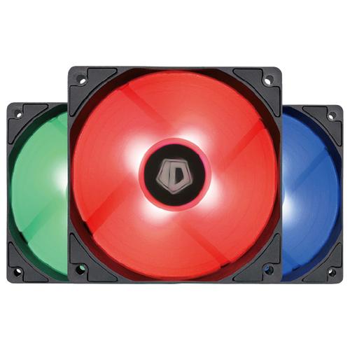 Комплект вентиляторов для корпуса ID-COOLING XF-12025-RGB черный/RGB 3 шт. + контроллер