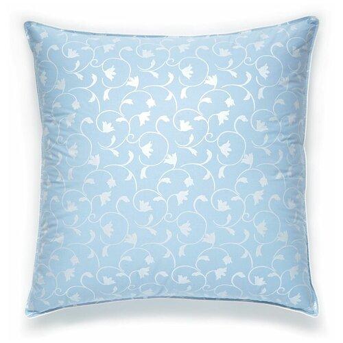 Подушка Легкие сны Камелия, 77(15)02-Л 68 х 68 см голубой