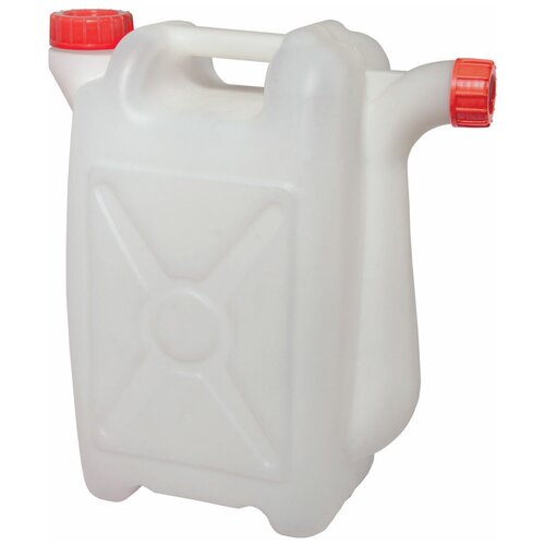 Канистра Альтернатива со сливом М565, 25 л, белый канистра пластиковая со сливом альтернатива м427 15 л