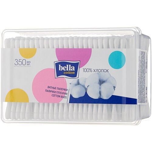 Ватные палочки Bella Cotton гигиенические, 350 шт.