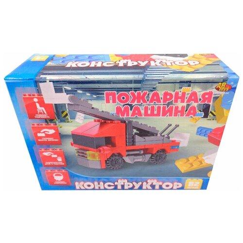 Конструктор ABtoys Транспортные средства PT-00444 Пожарная машина