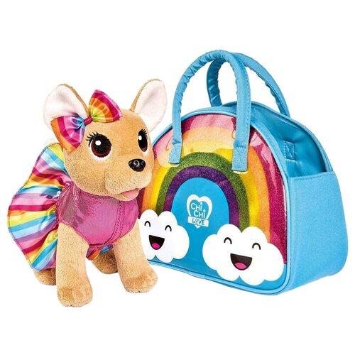 Мягкая игрушка Simba Chi-chi love Собачка Rainbow 20 см