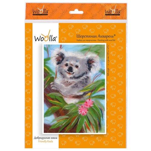 Woolla WA-0136 набор Добродушная коала ., Валяние  - купить со скидкой