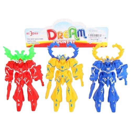 Купить Набор фигурок Роботы, 3 шт., пакет Наша Игрушка 609-A3, Наша игрушка, Игровые наборы и фигурки