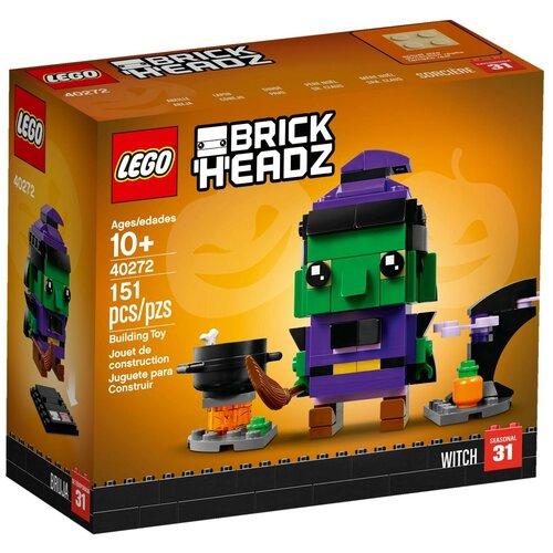 Конструктор LEGO BrickHeadz 40272 Хэллоуинская ведьма