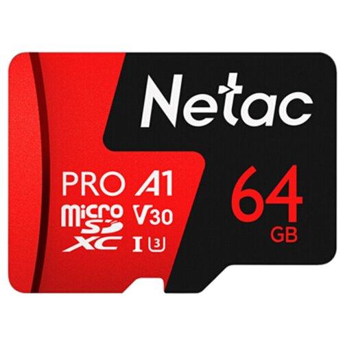 Фото - Карта памяти Netac NT02P500PRO-064G-S карта памяти netac nt02p500stn 016g s