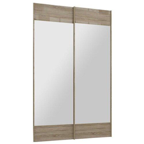 Двери раздвижные Stolline для шкафа Марвин-3 СТЛ.299.51 дуб сонома