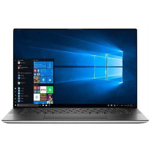 "Ноутбук DELL XPS 15 9500 (Intel Core i5 10300H 2500MHz/15.6""/1920x1200/8GB/512GB SSD/NVIDIA GeForce GTX 1650 Ti Max-Q 4GB/Windows 10 Home) 9500-6017 platinum silver"