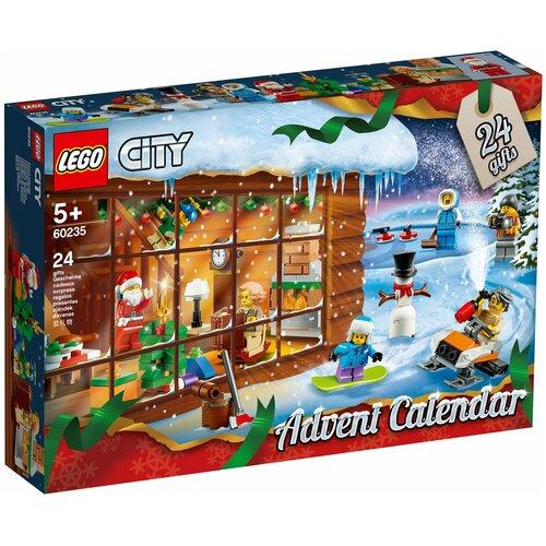 Конструктор LEGO City 60235 Рождественский календарь City конструктор lego city 60214 пожар в бургер кафе