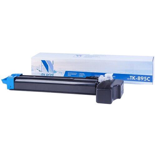 Фото - Картридж NV Print TK-895 Cyan для Kyocera, совместимый картридж nv print tk 895 yellow для kyocera совместимый