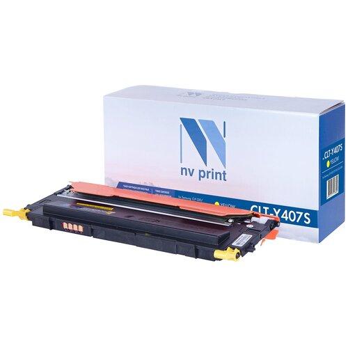 Картридж NV Print CLT-Y407S для Samsung, совместимый картридж nv print clt m406s для samsung совместимый