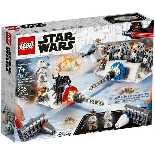 Конструктор LEGO Star Wars 75239 Разрушение генераторов на Хоте