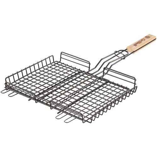 Фото - Решетка Grillkoff 211 для гриля, 30х23 см grillkoff уголь древесный для гриля эконом 26 л