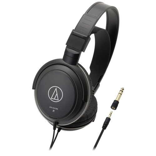 Наушники Audio-Technica ATH-AVC200, black