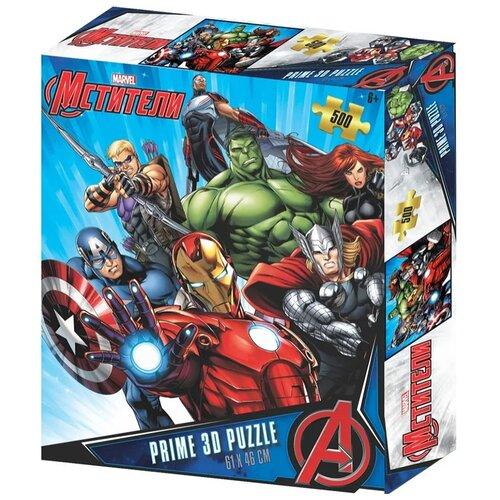 Купить Prime 3D Puzzle: Marvel – Мстители 2 (500 элементов), Пазлы