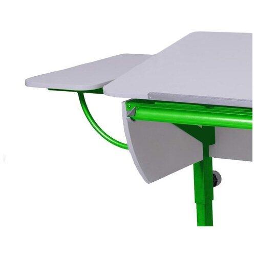 Приставка к столу Астек-Элара боковая приставка к партам белый/зеленый