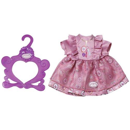 Фото - Zapf Creation Платье для куклы Baby Annabell 700839 розовый бутылочка zapf creation baby annabell 700 976 розовый