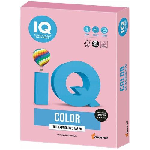 Фото - Бумага IQ Color А4 160 г/м² 250 лист., розовый фламинго OPI74 бумага iq color а4 color 120 г м2 250 лист оранжевый or43 1 шт
