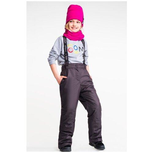 Купить Брюки BOOM! by Orby 90563_BOG размер 140, черный, Полукомбинезоны и брюки