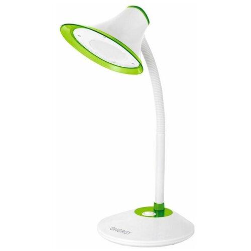 настольная лампа светодиодная energy en led20 1 бело зеленый 5 вт Настольная лампа светодиодная Energy EN-LED20-1 бело-зеленый, 5 Вт
