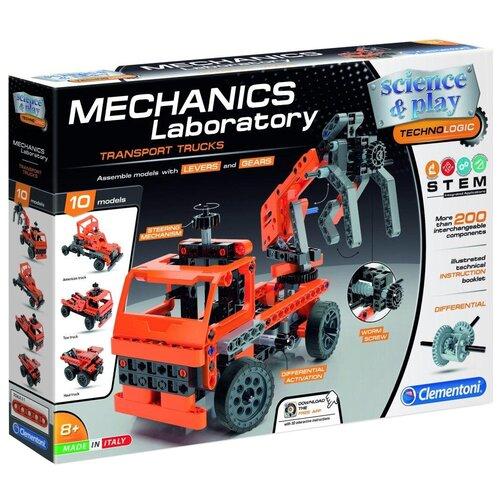 Конструктор Clementoni Mechanics Laboratory 75029 Транспортные и карьерные грузовики