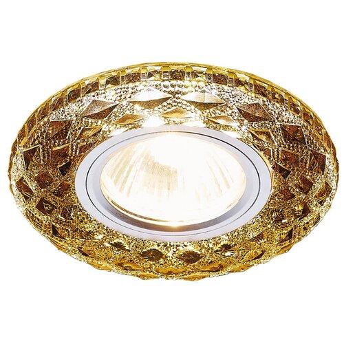 Фото - Встраиваемый светильник Ambrella light S288 BK, хром/агат встраиваемый светильник ambrella light s288 ch хром прозрачный