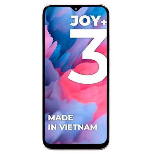 Смартфон Vsmart Joy 3+ 4/64GB, белый перламутр сотовый телефон vsmart joy 3 4 64gb purple topaz