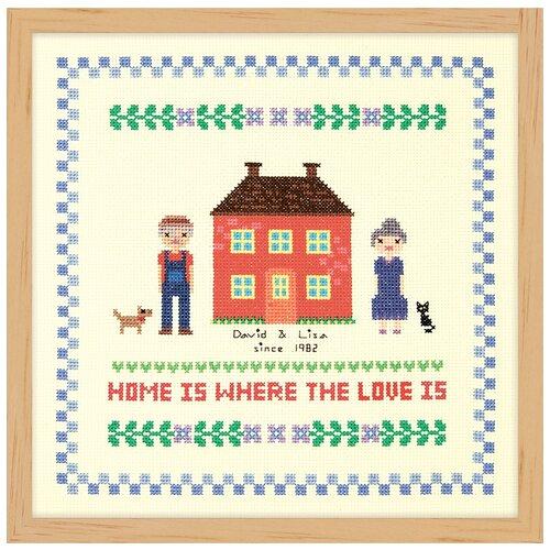 Купить Набор для вышивания Дом красного цвета XIU Crafts 2870711, Наборы для вышивания