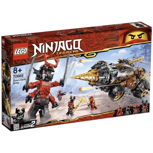 Фото - Конструктор LEGO Ninjago 70669 Земляной бур Коула конструктор lego ninjago 70599 дракон коула