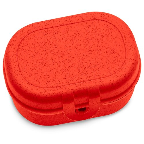 Koziol Ланч-бокс Pascal Mini Organic, 7x9.7 см, red недорого