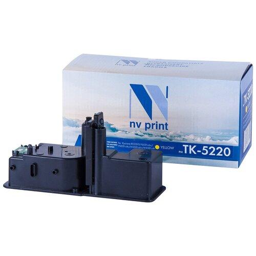 Фото - Картридж NV Print TK-5220 Yellow для Kyocera, совместимый картридж nv print nv tk 5280m совместимый