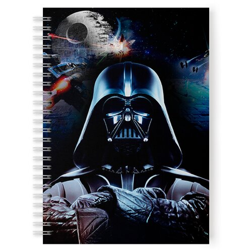 Купить Тетрадь 48 листов в клетку с рисунком Star Wars, Drabs, Тетради