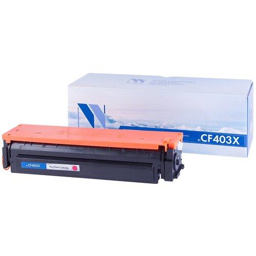 Фото - Картридж NV Print CF403X для HP, совместимый картридж nv print ce742a для hp совместимый