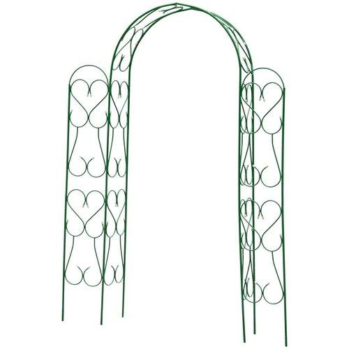 Арка GRINDA Ампир 422253, 240 х 120 х 36 см зелeный