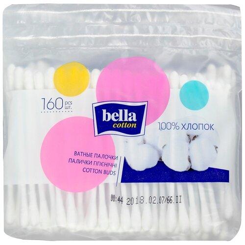 Ватные палочки Bella Cotton гигиенические, 160 шт.